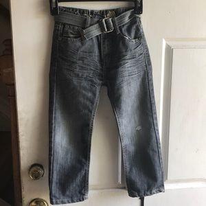 NWOT boys old Skool distressed jeans
